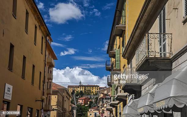 streets of biella - ビエラ ストックフォトと画像