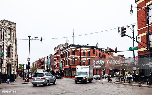 Streets of Chicago. Wicker Park.