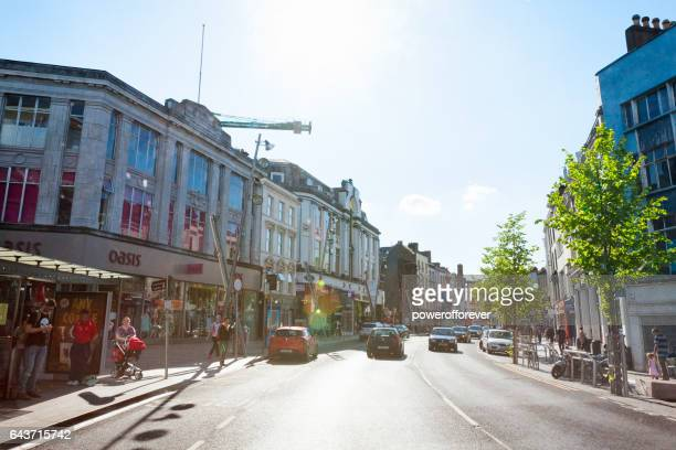 streets of cork, ireland - cork city stock pictures, royalty-free photos & images