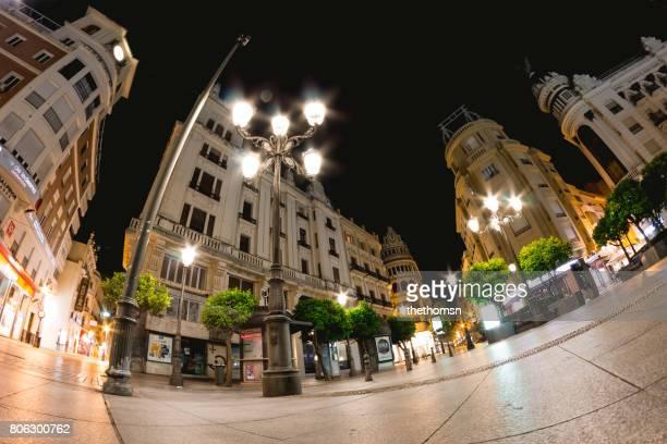 Streets of Córdoba at blue hour, Spain
