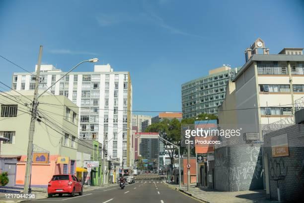 streets of curitiba, brasil. - curitiba stock pictures, royalty-free photos & images