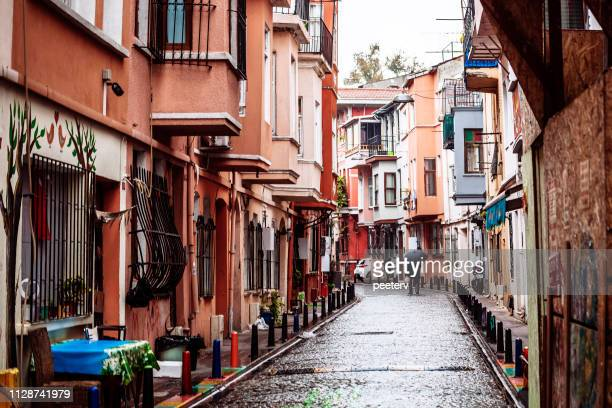 Streets of Fener district - Istanbul, Turkey