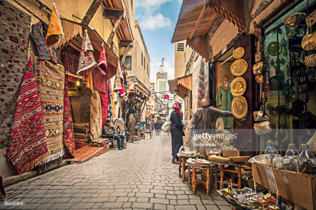 Streets of Fez : Stock Photo