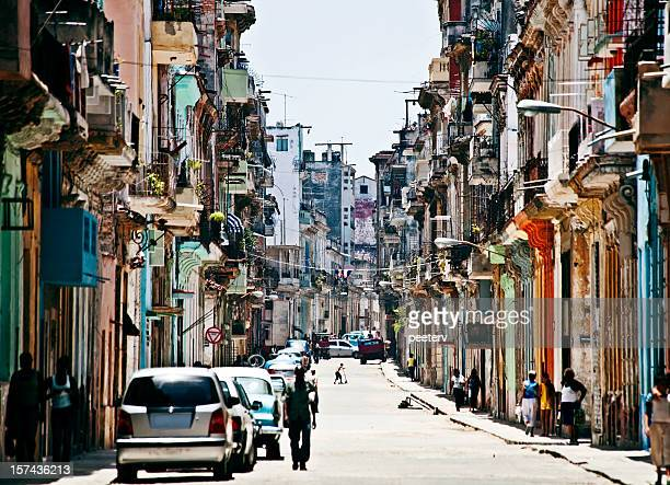 streets of havana - old havana stock pictures, royalty-free photos & images