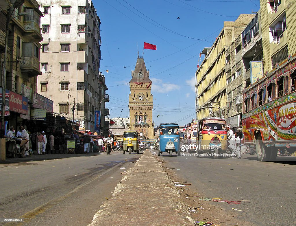 Streets of Karachi : Foto stock
