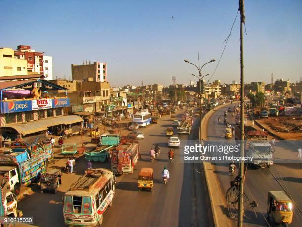 streets of karachi - パキスタン ストックフォトと画像