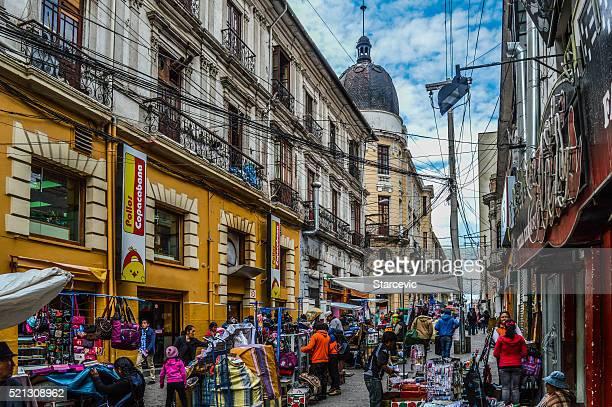 Streets of La Paz, Bolivia