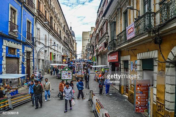 Rues de La Paz, Bolivie