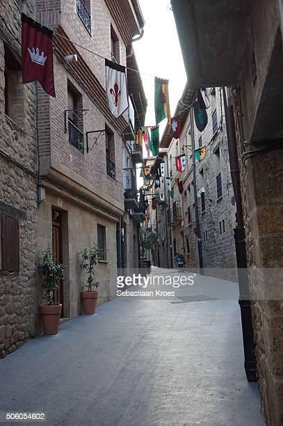 Streets of Laguardia, Alava, Spain