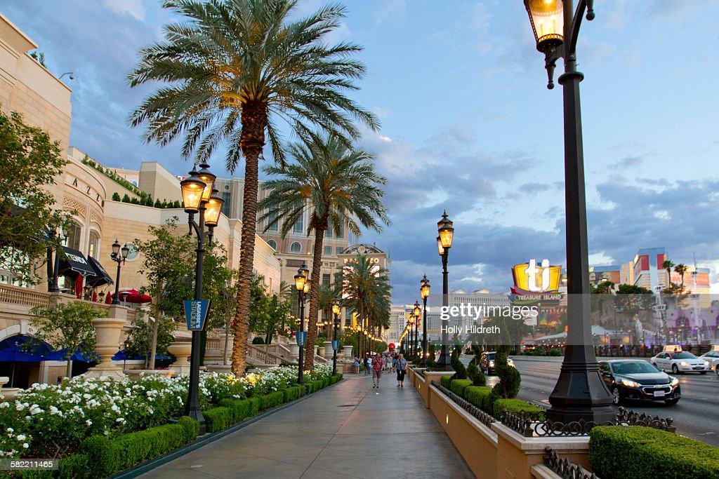 Streets of Las Vegas : Stock Photo