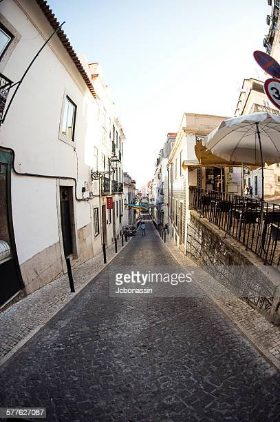 streets of lisbon - jcbonassin stock pictures, royalty-free photos & images