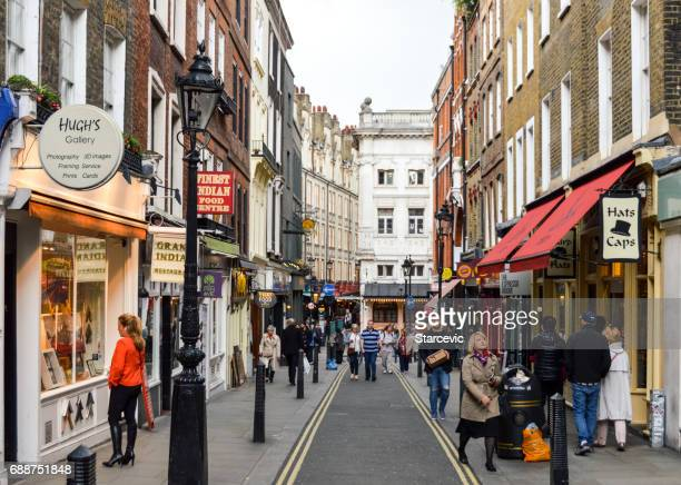 streets of london - central london stock pictures, royalty-free photos & images