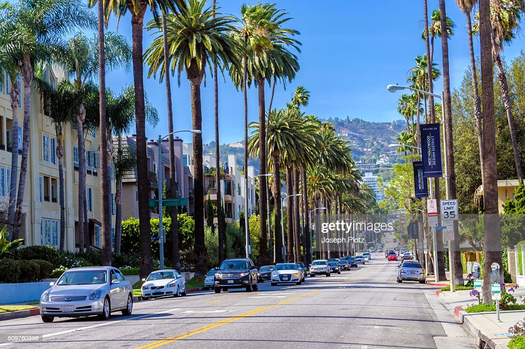 Streets Of Los Angeles Stock Photo Getty Images