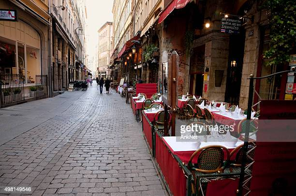Streets of Lyon, France