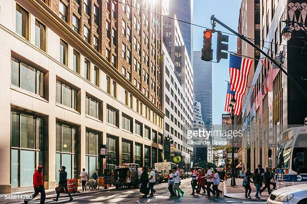 Streets of Manhattan, New York City, New York State, USA