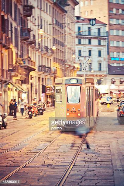 streets of milan. - lombardy stock pictures, royalty-free photos & images