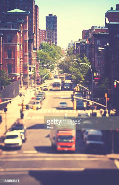 ruas de nova york - east harlem - fotografias e filmes do acervo