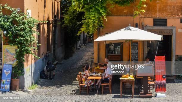 Straßen von Rom, Italien