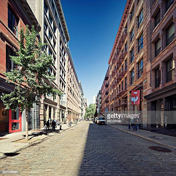 Streets of Soho, New York City