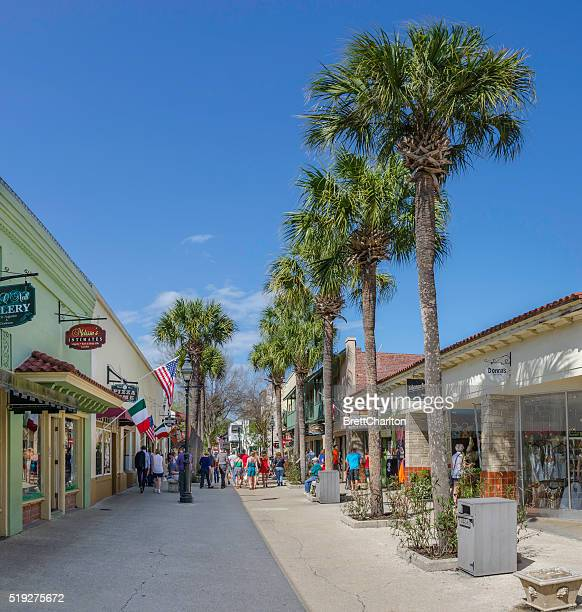 Streets of St Augustine, USA