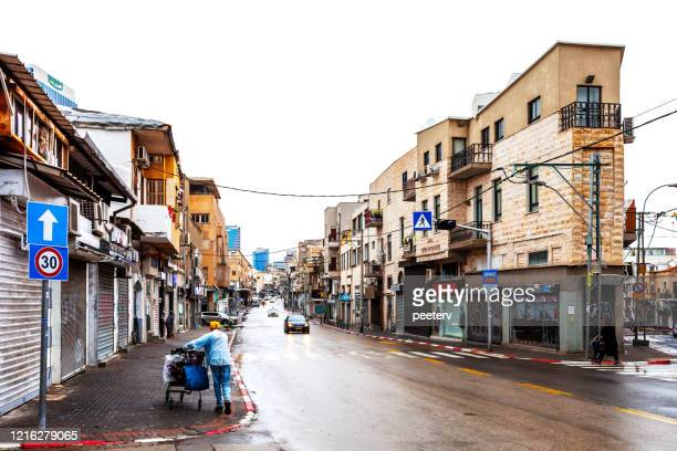 "streets of tel aviv, israel - ""peeter viisimaa"" or peeterv stock pictures, royalty-free photos & images"