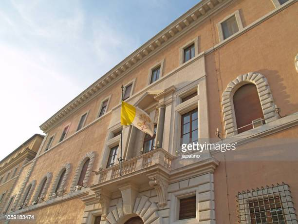 Streets of the historical center of the city of Rome