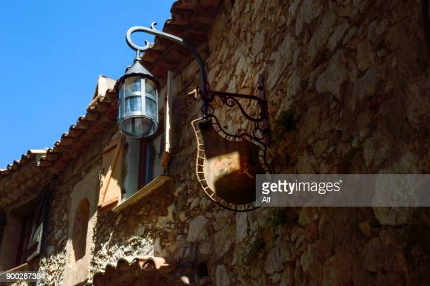 Streets of the medieval village of Eze, Eze, French Riviera, France
