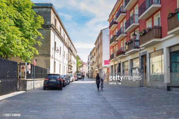 ビトリア・ガスティスの旧市街の通り - アラバ県 ストックフォトと画像