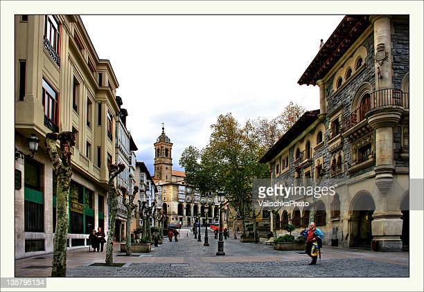 streets of vitoria-gasteiz - vitoria spain stock pictures, royalty-free photos & images