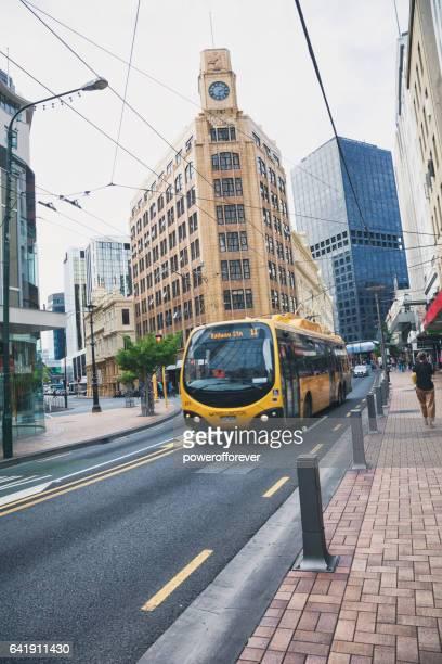 Streets of Wellington, New Zealand