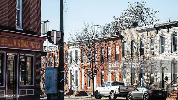 Streets of West Baltimore.
