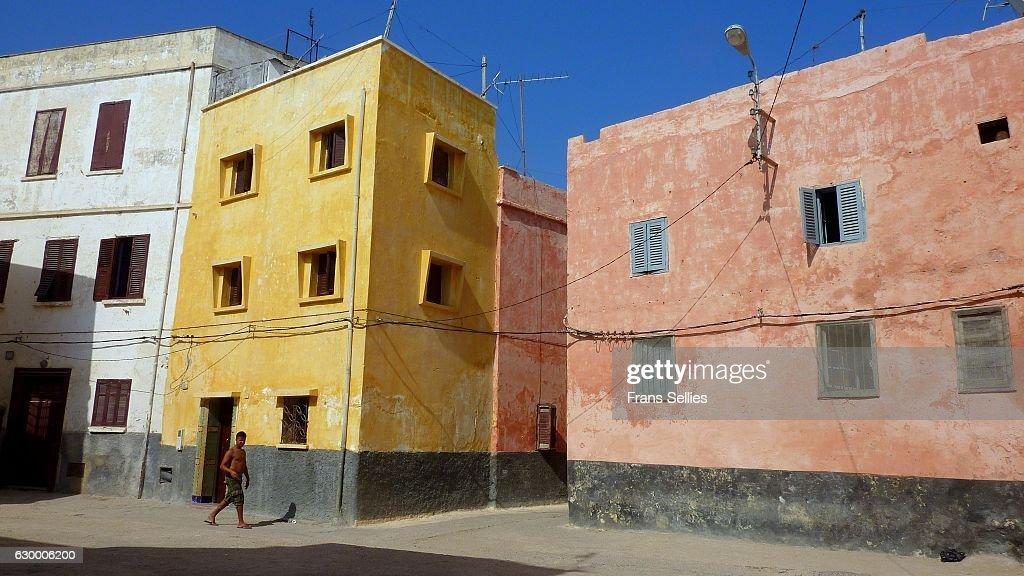Streetscene in El Jadida, Morocco : Stockfoto