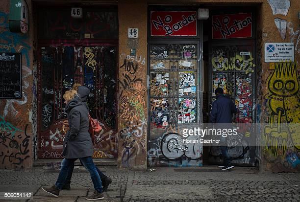 A streetscene on January 21 2016 in Berlin