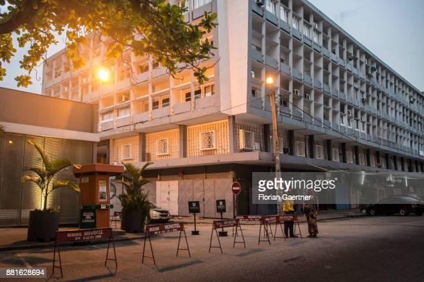 Streetscene on November 28 2017 in Abidjan Ivory Coast