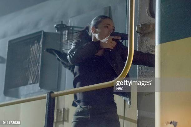 "Strelochnik"" Episode 208 -- Pictured: Jessica Camacho as Santana --"