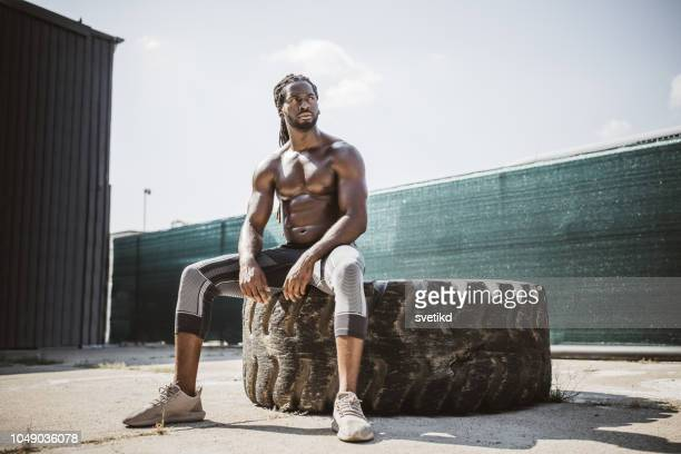 strength and power - shirtless stock pictures, royalty-free photos & images