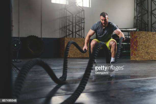 strengthen and sweat - rope stock pictures, royalty-free photos & images