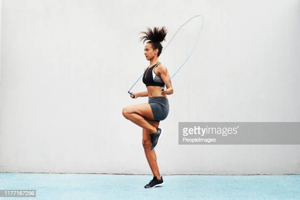 strengthening my balance - sports training stock pictures, royalty-free photos & images