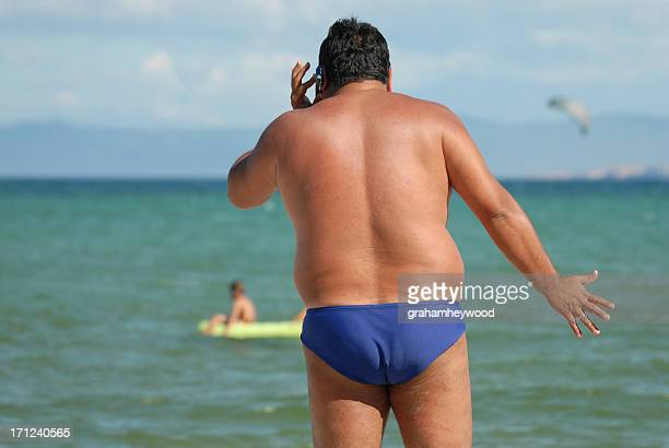 stress in paradise - big bums stock photos and pictures