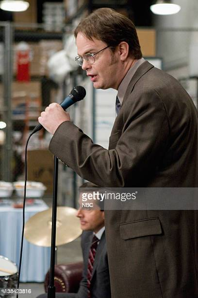THE OFFICE Stress Relief Episode 13 Pictured Rainn Wilson as Dwight Schrute