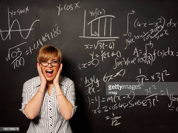 Stress with Mathematics on a Blackboard