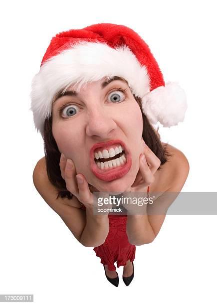 Gestresst über Weihnachten