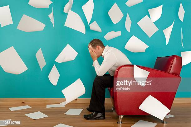 stressed out - excess stock photos and pictures