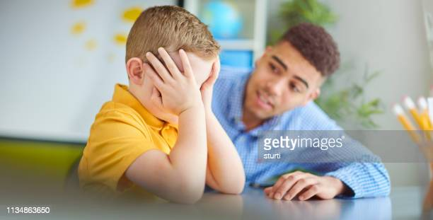 stressed schoolboy - social issues stock pictures, royalty-free photos & images