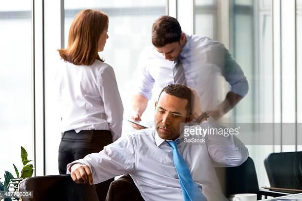 Stressful Office Meeting
