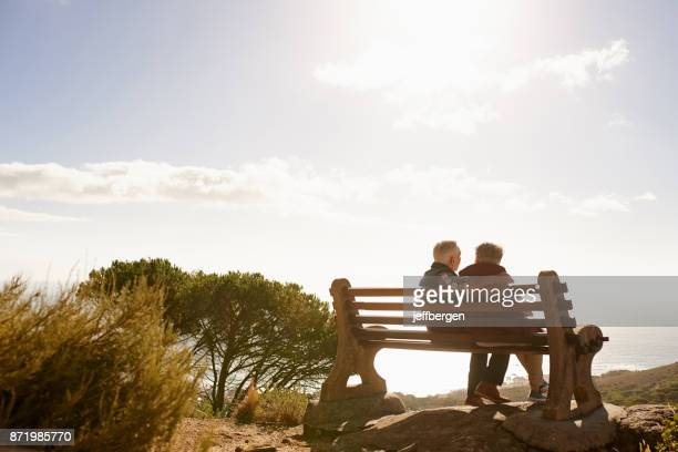 stressless, sunny days - bench stock pictures, royalty-free photos & images