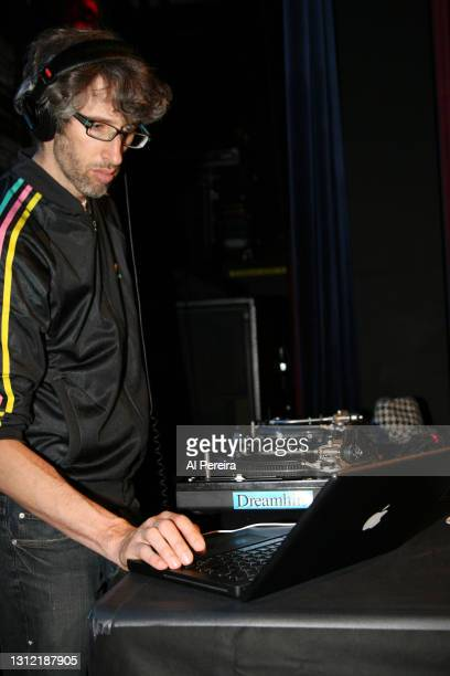 Stretch Armstrong spins records at the Broadband Enterprises 2nd Annual Video Digital Upfront Presentation at the Nokia Theater on April 24, 2008 in...