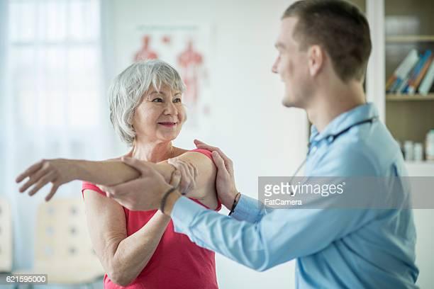 Stretching a Shoulder Injury