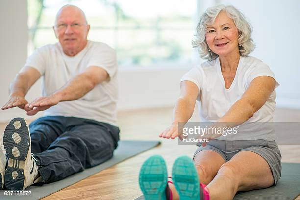 Stretching During Yoga