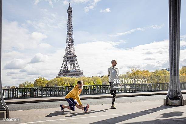Étirements dans les rues de Paris